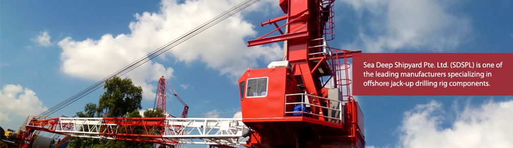 Sea Hercules Cranes Pte. Ltd. (SHC) is one of the leading manufacturers specializing in offshore jack-up drilling rig components.